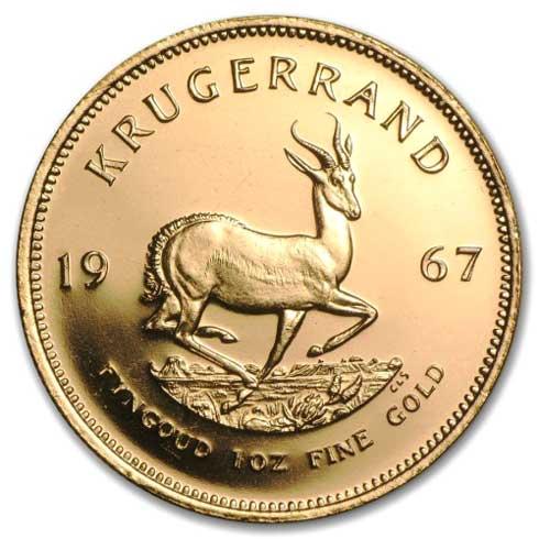 Vender Krugerrand Oro Madrid