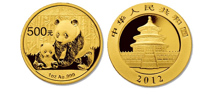 Vender Bullion Panda Oro Chino